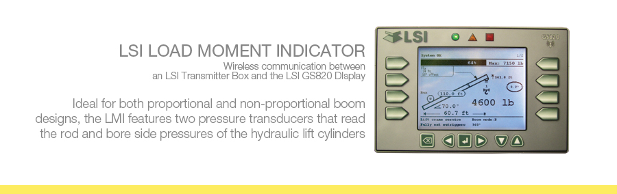 Load Moment Indicators For Cranes : Lsi lmi bode technial services