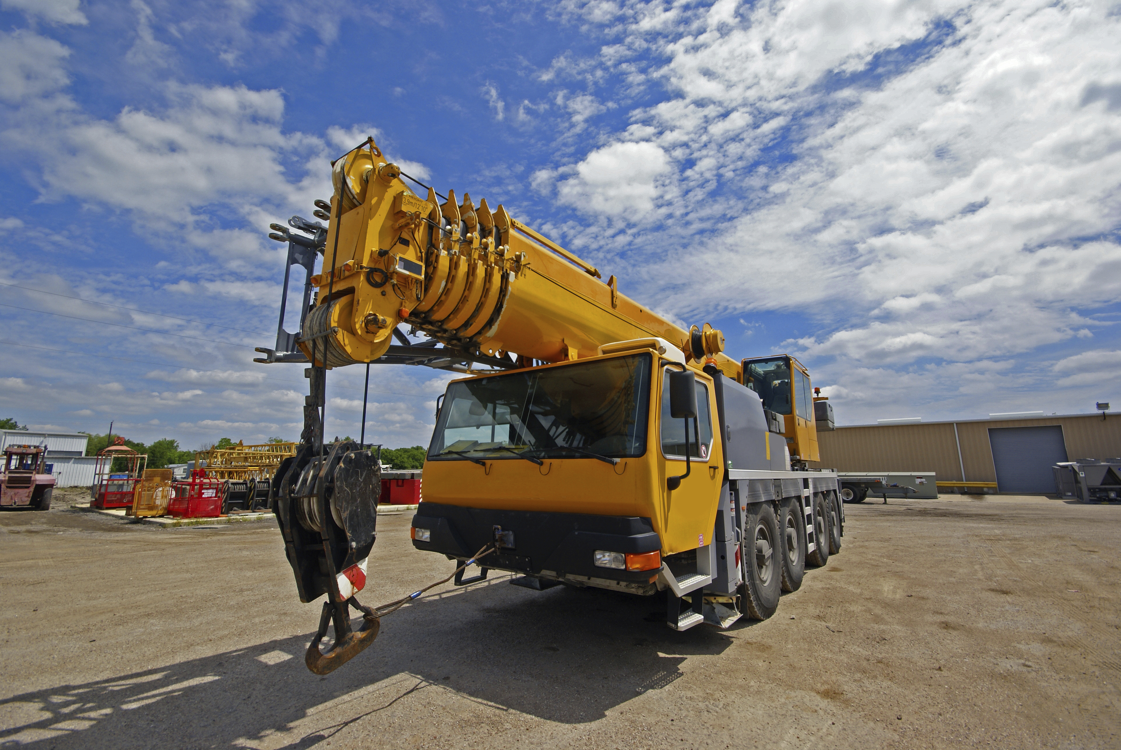 Crane Service and Rigging Mobile Apps for iPad and iPhone